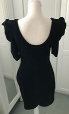Beautiful Dress By Next Size 14 Black Scoop Back