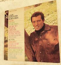 Andy Williams Born Free  Columbia CS 9480  1967 1st Pressing