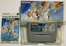 Tales of Phantasia w/box manual Nintendo Super Famicom SFC From Japan