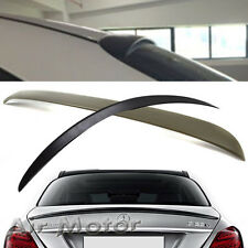 Unpainted For Mercedes-BENZ 15+ W205 Sedan OE Roof & AMG Boot Trunk Spoiler C200
