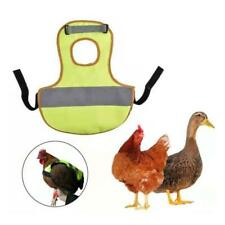 Chicken Harness Reflective Vests Hen with Matching Belt Comfortable Breathable