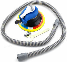 Air Random Orbital Sander Dual Action Pneumatic Polisher Grinder Vacuum Cleaner