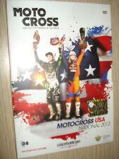 DVD N°8 MOTOCROSS USA NATIONAL 2012 MOTO CROSS VELOCITA' FANGO E GLORIA
