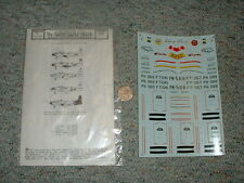 Microscale decals 1/72 72-142 F-80 Shooting Stars F133
