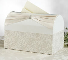 Traditional Ivory Elegant Wedding Card Holder