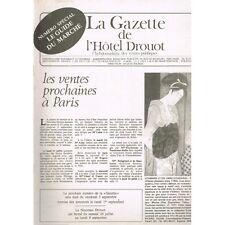 La GAZETTE de l'Hôtel DROUOT 1980 N°29 Côte SYMBOLISTES et POMPIERS Art ISLAMIQU
