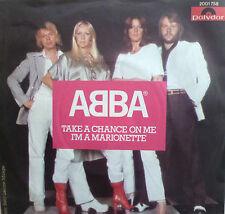 "7"" 1977 KULT ! ABBA : Take A Chance On Me // MINT- \"