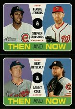 2020 TOPPS HERITAGE THEN AND NOW INSERT SINGLES - YOU PICK FOR SET