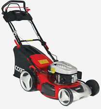 "Cobra 18"" Self Propelled petrol lawn mower MX46SPCE with Electric start"