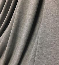 Bamboo Spandex Jersey Knit Fabric Ecofriendly  Leggins WT 11.5 oz Heather Gray