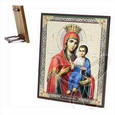 Ikone Gottesmutter von Iviron Holz 10 x 12 Иверская icon ikona 2049
