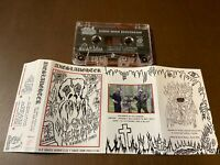 Axeslaughter~Old Graves Nekrofilia+Rabid Doom Processing~Cassette~Death Metal