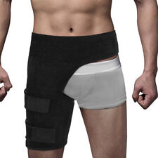 Thigh Hamstring Strap Support Compression Brace Wrap Sprains Groin Leg Pain Hip