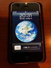 Apple iPhone 1st Generation - 8GB - Black (Unlocked) A1203 (GSM) MINT FLAWLESS
