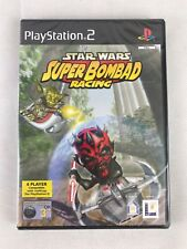 PS2 Star Wars: Super Bombad Racing (2001), UK Pal, Brand New & Factory Sealed
