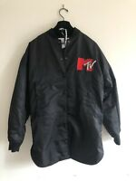 H&M MOSCHINO MTV ASYMMETRIC BOMBER JACKET - Sold Out Item Size S