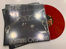 AC/DC LP LIGHTNING OVER JAPAN  SOUNDBOARD RED VINYL