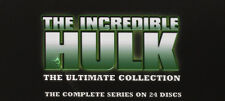 The Incredible Hulk (Complete Series) NEW PAL Cult 24-DVD Set Lou Ferrigno