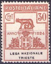 REGNO D'ITALIA - ENTI PARASTATALI - RARO FRANCOBOLLO DA 30 CENT. 1924