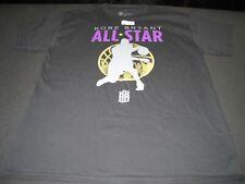 Mens Large Double Sided KOBE BRYANT NBA ALL STAR Tee Shirt RARE LA Lakers ~ 6655