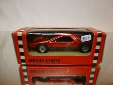 MERCURY 1:43 -  ALFA ROMEO CARABO NO= 303 METALLIC RED -  GOOD CONDITION IN BOX