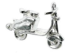 STERLING SILVER OPENING LAMBRETTA SCOOTER CHARM