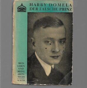 Domela, Harry:: Der falsche Prinz. Leben und Abenteuer , Einband John Heartfield