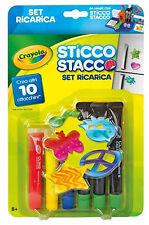 Merchandising Crayola - Set Ricarica Sticco Stacco