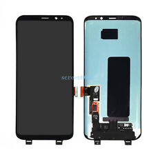 Lcd Display Touch Screen Schermo Per Samsung Galaxy S8 plus SM-G955F Nero+cover