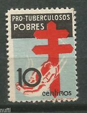 Spain Edifil # 840 ** MNH Pro tuberculosos / anti tab / medicina / medicine