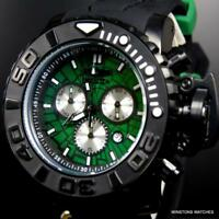 Invicta Marvel Hulk Sea Hunter Gen II Green 70mm Swiss Mvt Chronograph Watch New