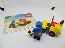 Lego 6607 City Service Truck Road worker Town system vintage