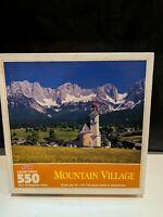 "Hoyle Mountain Village 550 pieces Jigsaw Puzzle 18"" x 24"""