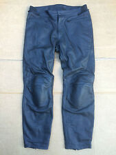 "RST INTERSTATE 2 Mens Leather Motorcycle Trousers Pants Jeans UK 38"" Waist (25)"