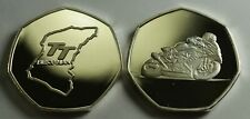 ISLE OF MAN TT RACING Collectors Token/Medal .999 Silver. Superbikes, Motorsport