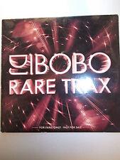 """DJ BOBO CD """"Rare Trax"""" Promo CD"""