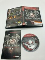 Sony PlayStation 2 PS2 CIB Complete Tested Mortal Kombat: Deadly Alliance