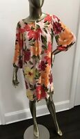 Tracy Feith Le Shack Short Floral Shift Dress NWOT Size 6