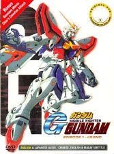 English Dub Mobile Fighter G Gundam (TV Series) + Char's Counterattack DVD Anime