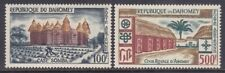 Dahomey C14-15 Mnh 1960 Somab House & Royal Court of Abomey Airmail Set Vf