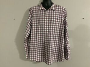 3043 Timberland Men's Multicolored Plaid Button Down XXL