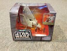 Star Wars Micro Machines Action Fleet IMPERIAL SHUTTLE TYDIRIUM Han MIB 1996