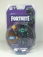 2018 - Fortnite - Solo Mode Core Figure Pack - Toxic Trooper - 3.75 inch - New