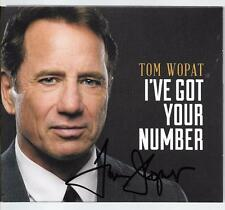 Tom Wopat (Dukes of Hazzard) I've Got Your Number autographed CD
