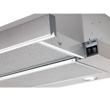 Einbau Flachschirmhaube Edelstahlblende 60cm Dunstabzugshaube LED 550m³/h