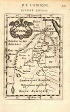 NUBIA. 'Nubie'. Nile Valley. Sudan Ethiopia Egypt. MALLET 1683 old antique map