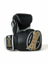 Sandee Kids Cool-Tec Boxing Gloves Black Gold Muay Thai Kickboxing Training