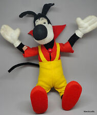 Schuco Lupo Wolf Bigo Bello Mohair Plush Bendy Doll 36cm 14in Fix Foxi Comic 60s