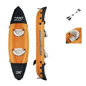 Bestway Hydro-Force Two Person Inflatable Kayak Set With Paddles