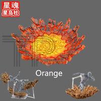 Tamashii Effect Impact Fit Figma SHF S.H.Figuarts Seiya Action Figure Orange